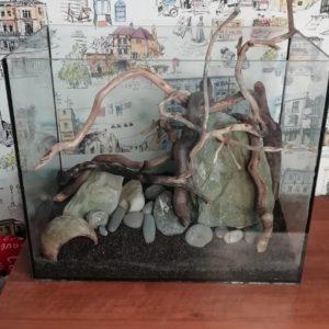 Декорации в аквариум