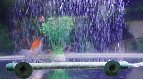 Установка аквариумной флейты в глубине