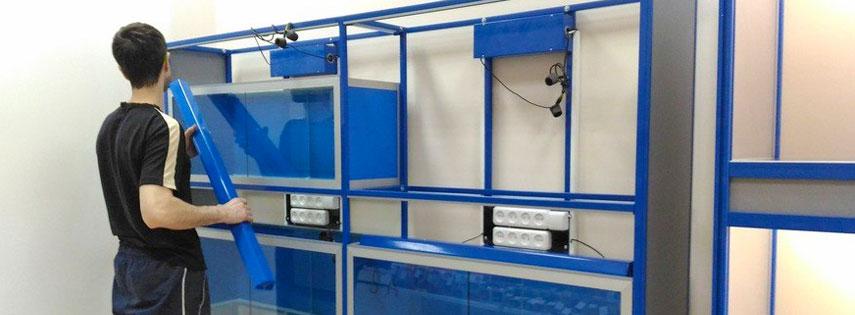 Изготовление стеллажа для аквариумов