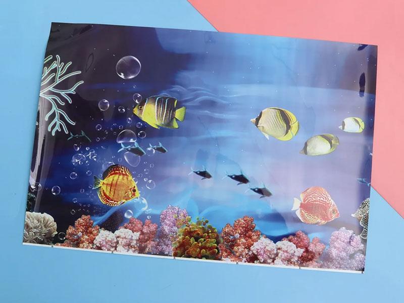 Пленка БОПП для аквариума