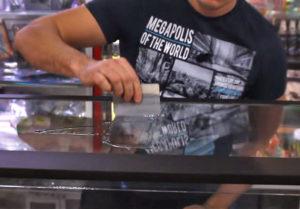 Увлажнение аквариумного стекла