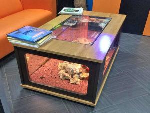 Журнальный стол из аквариума