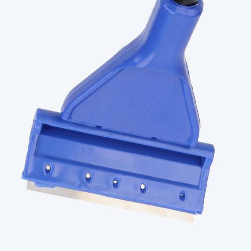 Оборудованные стальным лезвием, способным срезать жесткий налет;